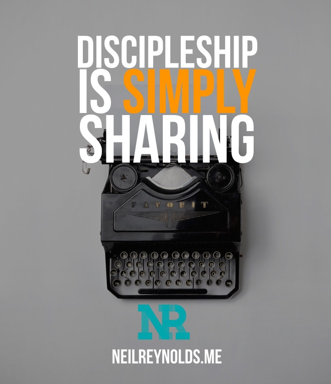 Discipleship is Sharing.001